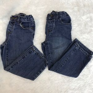 TWO pairs of Children's Place Boys 4T Jeans